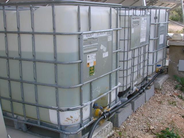 Riego recoger el agua de lluvia con esta conexi n de - Depositos agua lluvia ...