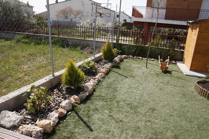 Jard n sin c sped ayuda para el dise o Diseno de jardines pequenos sin cesped