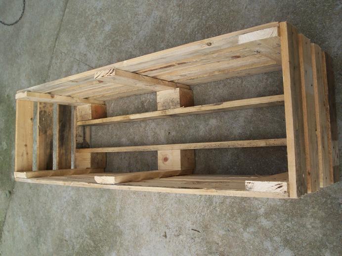 Jardineras hechas con palets de madera - Jardineras con palets ...