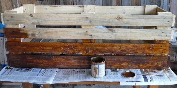Jardineras hechas con palets de madera - Jardineras de interior ...