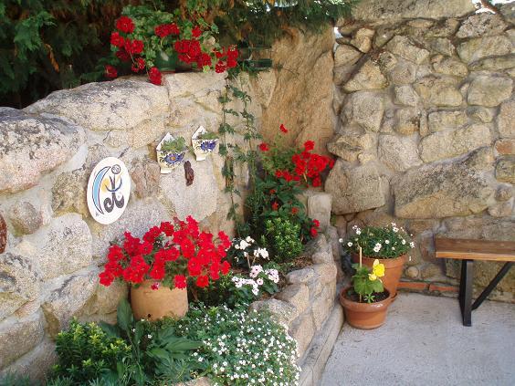Fotos de r sticos estilo r stico jard n piscina barbacoa etc p gina 3 - Fotos jardines rusticos ...
